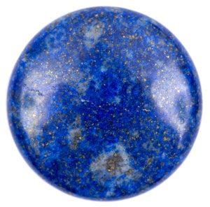 A blue crystal