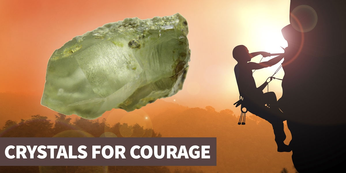 A guide to crystals for courage